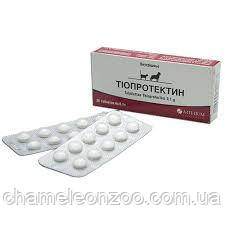 Тіопротектін ® табл №20 кардіо-гепатопротектор