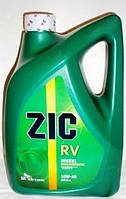 Полусинтетическое моторное масло Zic(Зик) Rv Diesel 10w40 6л.
