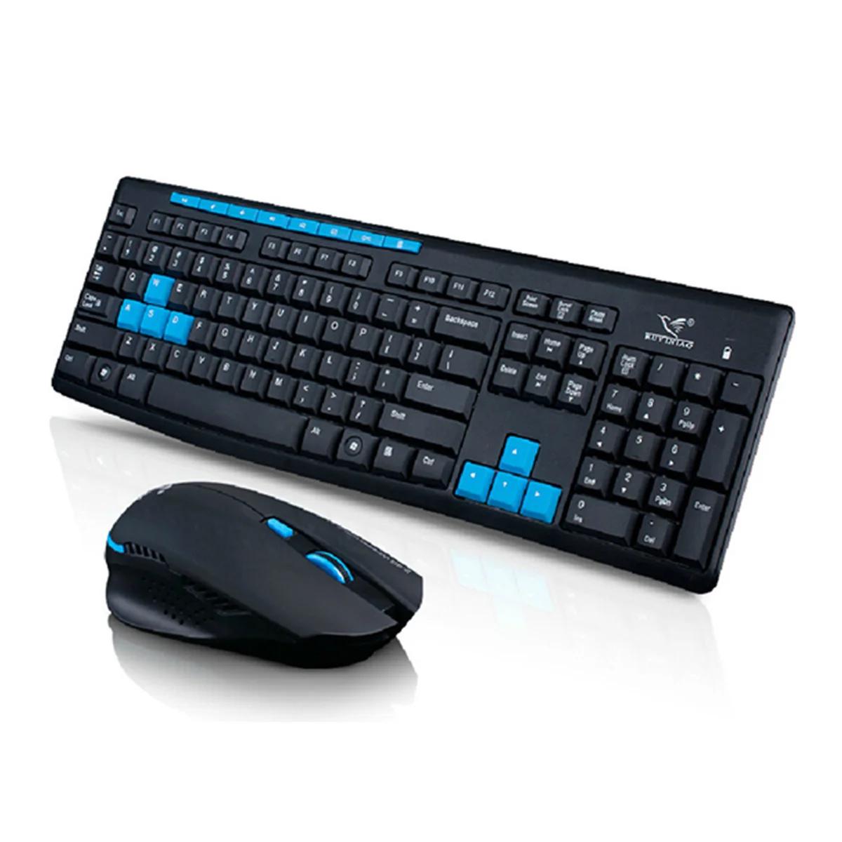 Клавиатура 2.4GHzиМышь1600DPIWireless ComboHK3800