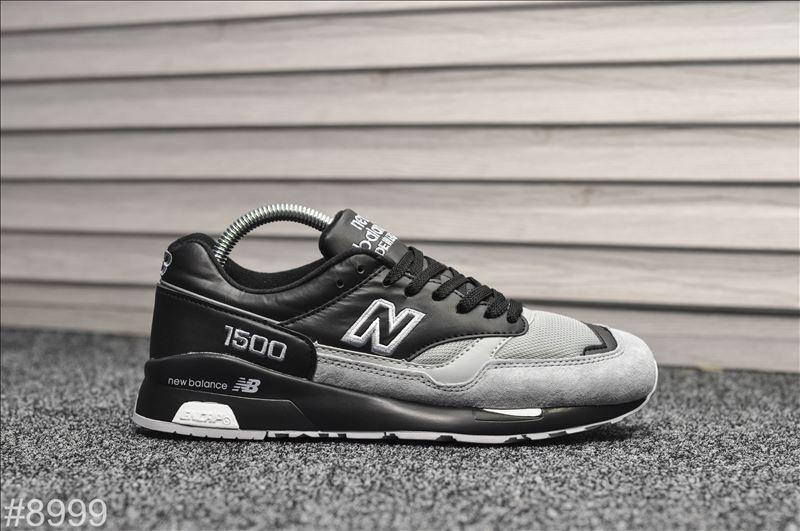 Мужские кроссовки New Balance 1500 Black Gray, Реплика