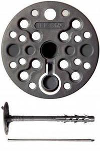Дюбель для кріплення теплоізоляції 10 х 200 з металевим цвяхом і термозаглушкой, Стандарт ціна за 50 шт.