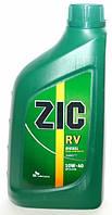 Полусинтетическое моторное масло Zic(Зик) Rv Diesel 10w40 1л.