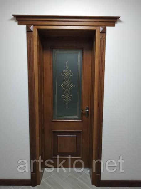 Вітраж у міжкімнатні двері