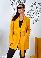 Кашемировое пальто короткое 1301