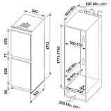 Холодильник Franke FCB 320 NR V A+ (118.0532.354) белый, фото 7