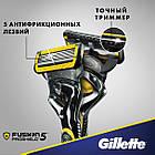 Станок Gillette Fusion ProShield 1 картридж Flexball 01249, фото 7