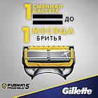 Станок Gillette Fusion ProShield 1 картридж Flexball 01249, фото 9