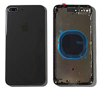 """Крышка задняя iPhone 8 Plus (5.5"""") с рамкой Space Gray"""