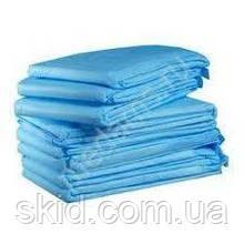 Простирадло (пелюшка, покриття) одноразова стерильна 200х120 (спанбонд)
