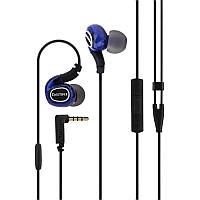 HF Remax (OR) RM-S1 Pro Blue (mic + button call answering + remote control)