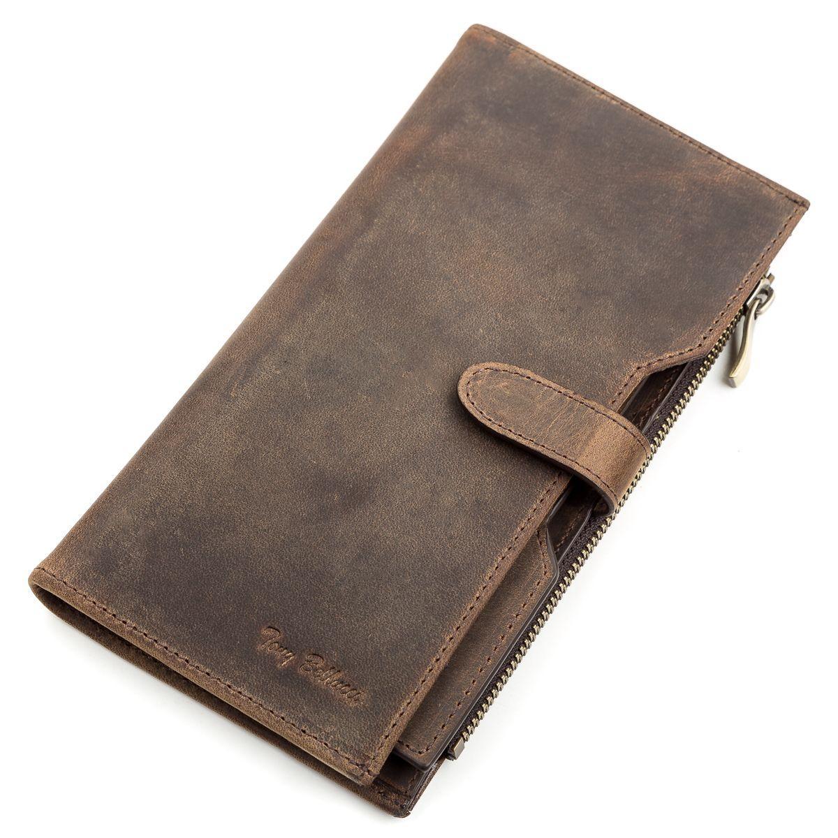 Кошелек мужской Tony Bellucci 17211 кожаный Коричневый