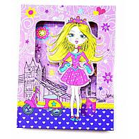 Блокнот на замке для девочек Принцесса
