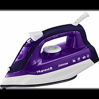 Праска ViLgrand VEI 0203 purple, паровий удар, 2 кВт, вертикальне відпарювання