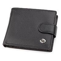 Мужской кошелек ST Leather 18311 (ST103) Черный, фото 1