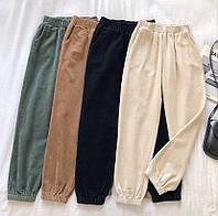 Вельветовые женские штаны 42-44 44-46