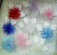 Свадебные цветочки для гостей (цвета - в ассортименте) Ц-г-4