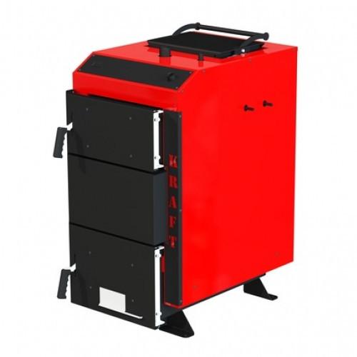 Котел шахтного типа нижнего длительного горения с автоматическим управлением Kraft серия D 12 кВт (Крафт)