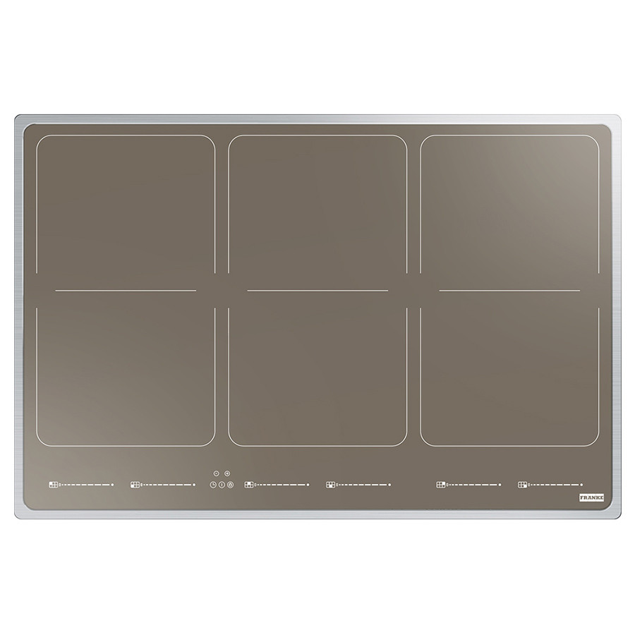 Индукционная варочная поверхность Frames by Franke FHFS 786 3FLEXI ST CH (108.0516.351) нержавеющая сталь / стекло шампань