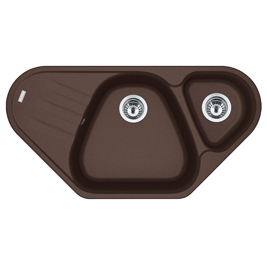 Кухонная мойка Franke Antea AZG 661-E (114.0499.210) шоколад