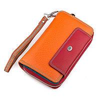 Кошелек женский ST Leather 18441 (SB55-5) вместительный Красный, Красный