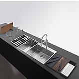 Кухонная мойка Franke Box Center BWX 220-54-27 TL WCR (127.0538.260) полированная, фото 7