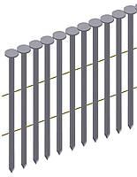 Гвозди для пневмоинструмента типа CNW рифленый в бобине Prebena типа CNW 2,1/38 для поддонов (16,8 тис. шт.)