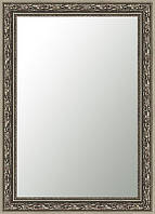 Зеркало SvitArt 61х81 см в багете 5525-296 Серебристое