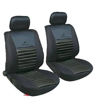 Чехлы сидений передние  черные Milex Tango
