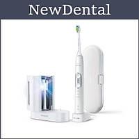 Звукова зубна щітка Philips Sonicare Protective Clean 6100 White & UV Sanitizer HX6877/68