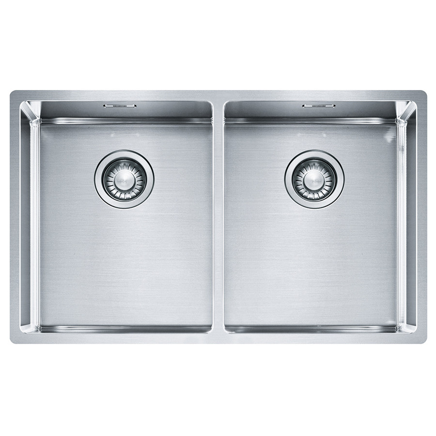 Кухонная мойка Franke Box BXX 220/120-34-34 (127.0370.188) полированная