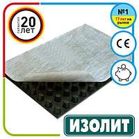 Шиповидна геомембрана Ізоліт Profi Geo 10 (2х12.5м)