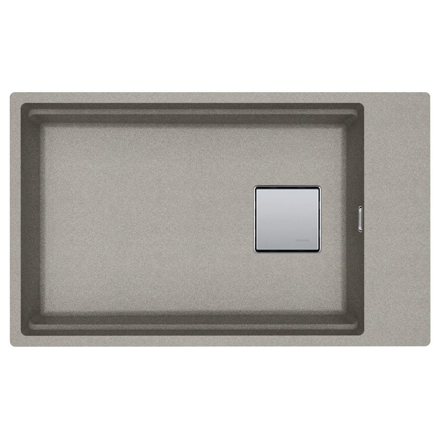 Кухонная мойка Franke Kubus 2 KNG 110-62 Super Metallic (125.0599.044) жемчужно-серый