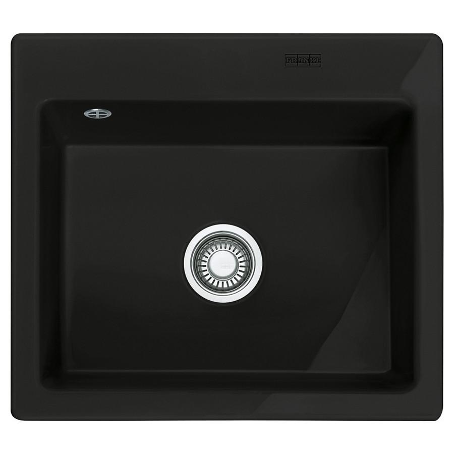 Кухонная мойка Franke Mythos MTK 610-58 (124.0380.250) черный матовый