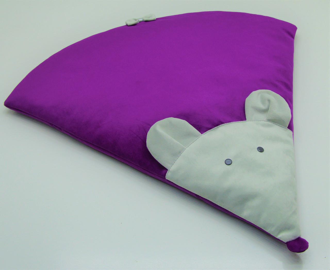 Килимок MOUSE №1 50х58 см  фиолетовый