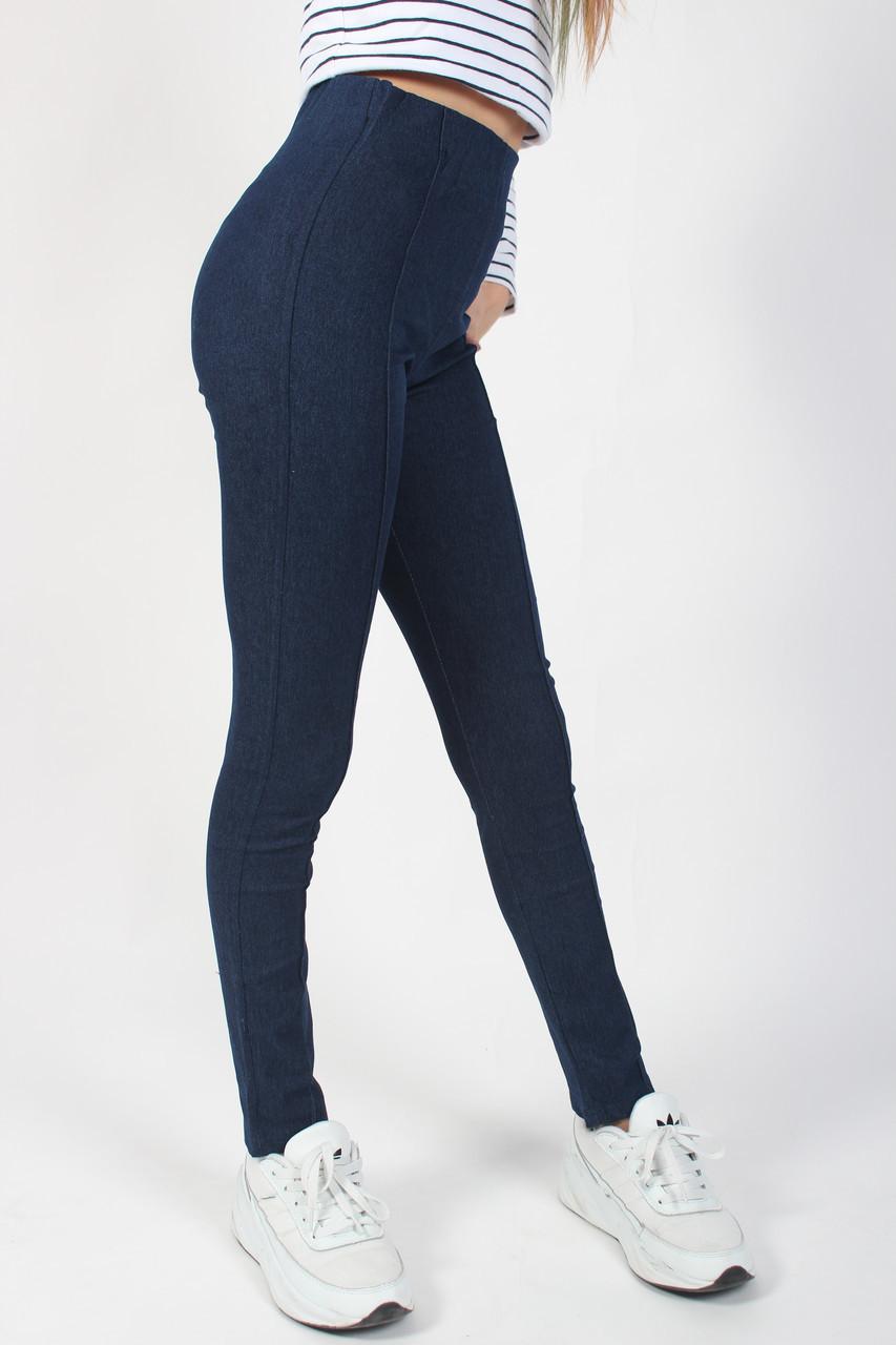 Лосины детские джинс для девочки (8-13 лет) джинс с хорошим стрейчем №7201