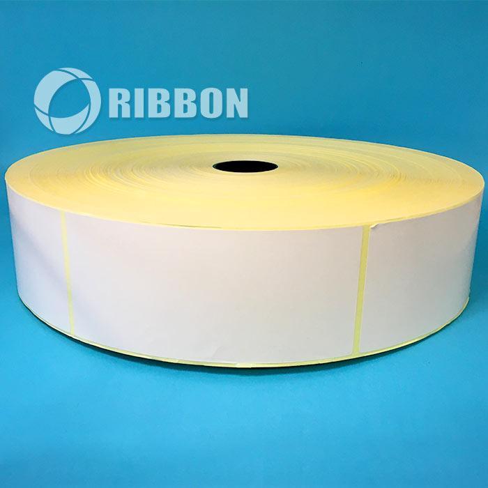 Термотрансферна етикетка напівглянець 67х149 (3500 шт., вт. 41) Ціна за рулон!