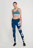 Женские Леггинсы Nike Sportswear Graphic Legging 883655-474 (Оригинал)