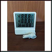 Метеостанция Термометр Гигрометр Цифровой Digital CX-301A c часами и выносным датчиком, фото 1