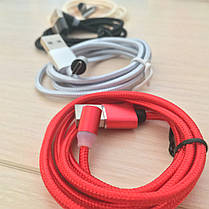 Магнитный кабель, зарядка, зарядный кабель, Floveme micro usb Золотой, фото 2