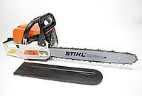Бензопила STIHL MS 180 (Пила моторизированная  Штиль 180) 2.8 кВт 45 см шина Полная комплектация !