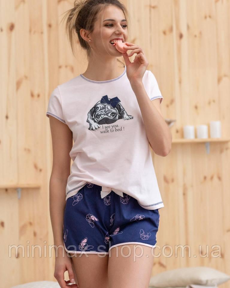 Пижама женская летняя Футболка LT02010 Naviale