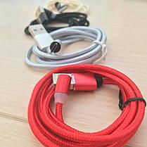 Магнитный кабель, зарядка, зарядный кабель, Floveme micro usb Красный, фото 3