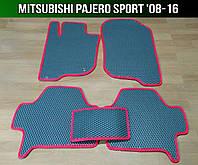 ЕВА коврики на Mitsubishi Pajero Sport '08-16. Ковры EVA Митсубиси Паджеро Спорт Мицубиси, фото 1