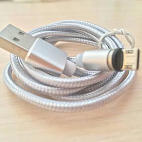 Магнитный кабель, зарядка, зарядный кабель, Floveme iPhone Серебряный