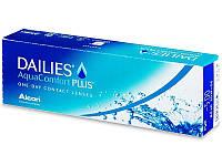 Контактные линзы Dailies AquaComfort Plus (Alcon) Акция 30+10!