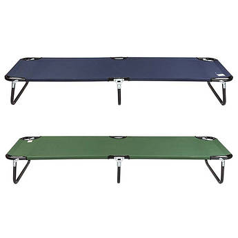 Раскладушка,ПВХ,терилен ,190 * 54 * 28 см,синий,зеленый