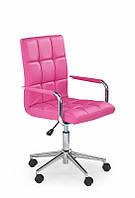 Кресло компьютерное GONZO 2 розовый (Halmar), фото 1