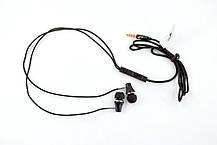 Гарнитура 4you VIRGO (тканевый шнур) black , фото 2