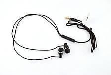 Гарнитура 4you VIRGO (тканевый шнур) black , фото 3