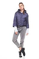 Демисезонная стильная короткая куртка Ирис, разные цвета, фото 1
